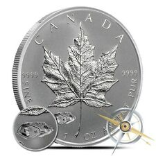 2016 1 oz Canadian Silver Maple Leaf Mark V Tank Privy