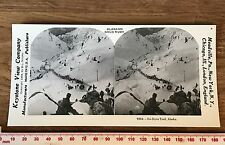 DYEA TRAIL ALASKA Alaskan Gold Rush Vintage 1978 REPRINT of Victorian Stereoview