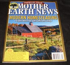 Mother Earth News Modern Homesteading Self-Reliance Survival Spring 2016