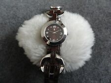 Pretty Ladies Quartz Watch with a Brown Band - Japan Movement