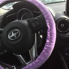 STEERING WHEEL COVER PURPLE fits most small mid size cars