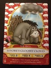 Disney Sorcerers of the Magic Kingdom UNCOMMON #27 Eeyore + 2 COMMON Cards