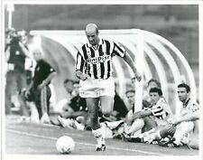 1995 ATTILIO LOMBARDO Foto originale Juventus-Sporting Lisbona 0-1 amichevole