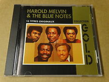 CD / HAROLD MELVIN & THE BLUE NOTES - COLLECTION GOLD - 13 TITRES ORIGINAUX