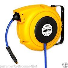 ZECA 804/8 Carrete de la manguera Winder tales Aire Comprimido - Agua 10 metros