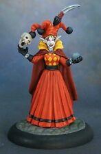 Jolistina Susperio Reaper Miniatures Pathfinder Jester Wizard Sorceress Elf Mage