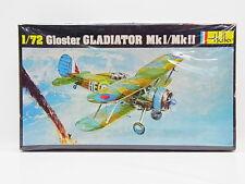 LOT 17522   Heller 270 Gloster Gladiator Mk I  1:72 ungebaut in OVP m. Lagersp.