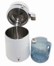 New 4L Water Distiller Pure Purifier Filter Stainless Steel Filter/Cap Best-007