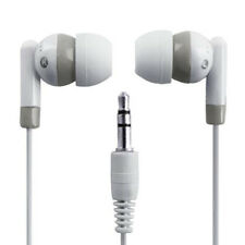 3.5mm Mini In-Ear Earpiece Earbud Headphone Earphone for Apple iPod White