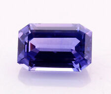 GIA Certified Blue Sapphire(Color Change) Sri Lanka 8.33ct.Emerald cut