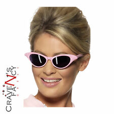 50s Pink Ladies Sunglasses Grease Lady Frenchy Rizzo Sandy Fancy Dress Hen Night