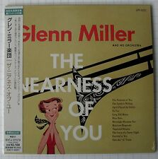 GLENN MILLER - The Nearness Of You REMASTERED JAPAN MINI LP CD NEU BVCJ-37379