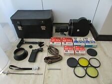 SOVIET RUSSIAN 16mm MOVIE Camera Krasnogorsk-3 + Kit ! ORIGINAL BOX ! FULL KIT !