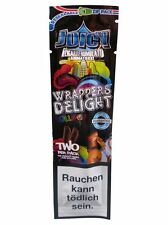 1 Pack of 2 BLUNT WRAP JUICY JAY'S - WRAPPERS DELIGHT - ROLLING PAPER *ZIP PACK*