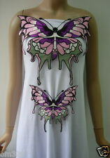 VT310 Colorful Butterfly Front Embroidered Applique Motif 2pcs