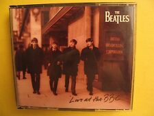 The Beatles Live at the BBC CD Original Plastic Clamshell Case 2 Discs & Booklet