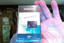 Interview- self titled- new/sealed cassette tape- 1980