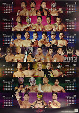 Official Dragon Gate 2013 Calender Poster
