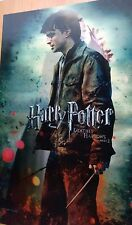 New 3D Harry Potter and the Deathly Hallows - Original Moving Image Movie Poster