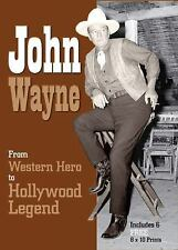 Book and Print Packs: John Wayne : From Western Hero to Hollywood Legend by...
