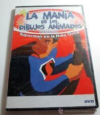 DVD LA MANIA DE LOS DIBUJOS ANIMADOS SUPERMAN EN LA HORA ONCE