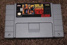 Ninja Gaiden Trilogy (Super Nintendo Entertainment System, 1995) SNES Repro
