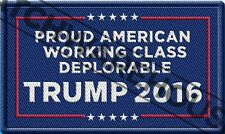Make America Great Again Deplorable Patch Deplorables For Donald Trump 2016