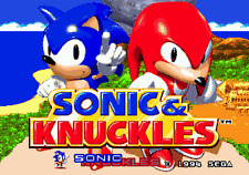 Sonic And Knuckles - Sega Genesis Game Only