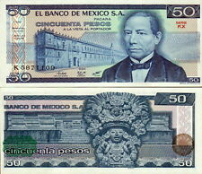 MESSICO - Mexico 50 pesos 1981 Green Seal FDS - UNC