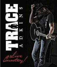 Trace Adkins: Live Country (DVD, 2015)  NEW