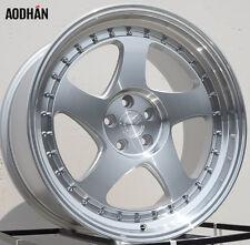 AODHAN AH01 18x9.5 5x114.3 +12 Silver (PAIR) wheels