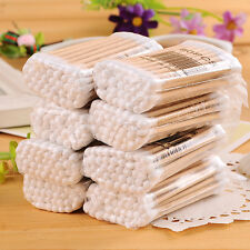 400 PCS cotton swabs coated cotton swabs strong new 7 cm long wooden handle !