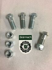 Bearmach Land Rover Defender Front Output Prop Shaft Bolts & Nuts x 4 BT606101‏