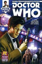 DOCTOR WHO #1 eleventh 11th DR MATT SMITH SDCC PX variant TITAN 2014 BBC TV 1st