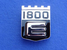 VOLVO P1800E 1800E REAR REAR PANEL BADGE (NEW REPRODUCTION)