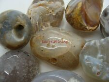 Natural  POLISHED AGATE OCOs - 2000 CARAT Lots - Tumbled and Polished Gemstones