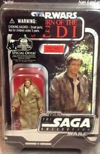 Han Solo in Trench Coat Action Figure - Star Wars Saga Collection Return of Jedi