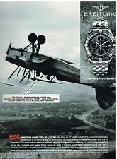 Publicité Advertising 1993 La Montre Breitling grand prix de l'APPM