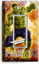 INCREDIBLE HULK SINGLE GFI LIGHT SWITCH WALL PLATE COVER BOYS BEDROOM ROOM DECOR
