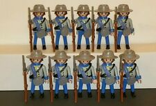 PLAYMOBIL 10 Confederate Soldiers 4622