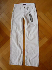 Neu Orig. Cool Hunting People Jeans gerades Bein Straight Leg White weiß W 26