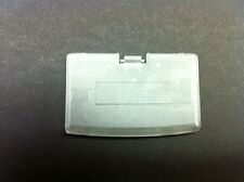 CRYSTAL CLEAR GAMEBOY ADVANCE REPLACEMENT BATTERY COMPARTMENT COVER LID DOOR