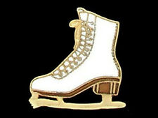 Large Ladies Skating Boot Lapel Pin ELEGANT DESIGN