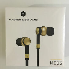 Master and Dynamic ME05 In-Ear Headphones - Brass **Brand New Sealed** RRP-£159