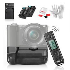 Meike A6300 Pro Battery Grip + Sony NP-FM50 battery +Charger