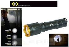 CK Rechargeable 3-Mode 250m Focus Hand Torch 300 Lumens CREE XM-L T6 LED T9530R