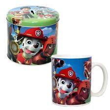 Paw Patrol - Kinder Geschenk Set Tasse Porzellan & Spardose Sparbüchse