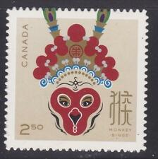 Canada 2016 #2887i Lunar New Year of the Monkey Unused