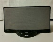 Bose SoundDock Series 1 Dock System Black 30 pin iPod iPhone 4 4S NO POWER CORD