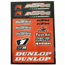 4MX Sticker Decal Sheet Pro Circuit KTM Logo fits 250 EXC Enduro 12-15